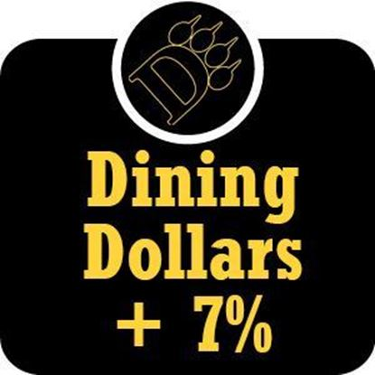 Picture of $101 - $200 ODU Dining Dollars Plus 7% Bonus