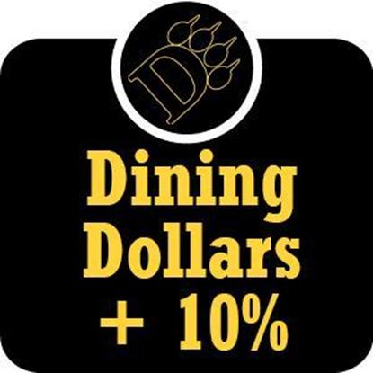 Picture of $201 - $300 ODU Dining Dollars Plus 10% Bonus